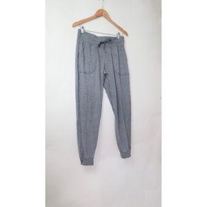 Lululemon grey cotton joggers 8